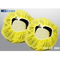China Disposable headphone cover yellow color strength extensile one size fits all on sale