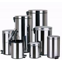 Trash Bin Metal Stainless Steel Trash Bin & Garbage Can & Trash Can