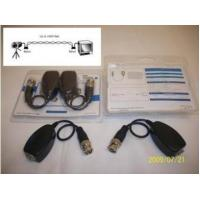 Quality Security Passive UTP Cat5 Video Balun Transceiver for CCTV Pigtail-Type wholesale