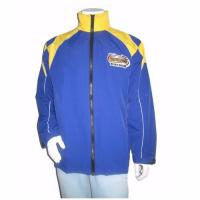 Quality Sportswear Polyester Full Zipper Racing Jacket wholesale