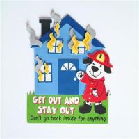 Quality House Fire Safety Magnet Craft Kit wholesale