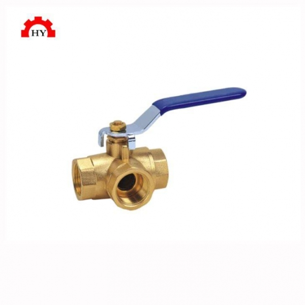 Cheap L Type T Type Brass 3 Way Ball Valve for sale