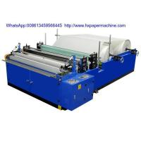 Quality HX-1575A Single Embossing Toilet Paper Machine(Manually Change Paper Core) wholesale