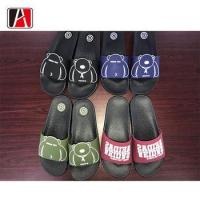 China Slide Moroccan Rubber Sole Slipper For Man Pu Gent on sale