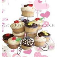 Quality Kitchen wares 3-tier cup cake stand wholesale