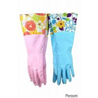 China 31212 Household Gloves Latex free cleaning Gloves with soft fiber lining extra long cuff 15 on sale