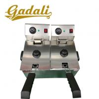 China CE Proved Stainless Steel Table Top Commercial Electric Chicken Deep Fryer For Sale on sale