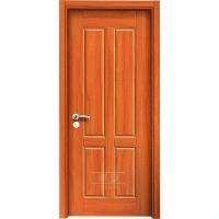 China Environmental 4 panel mdf internal doors hdf skin moulded composite utility door on sale