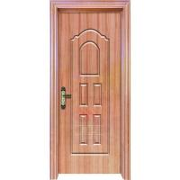 China 60 minutes apartment hotel wood grain fire rated steel entry door manufacturers on sale