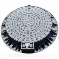 Quality Round Covers Ductile Cast Iron Manhole Cover OEM Chinese Foundry wholesale