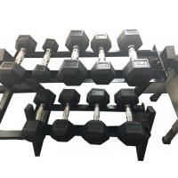 High Quality Wholesale Rubber Hex Dumbbell