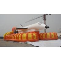 China Inflatable Airplane model inflatable slide for rent for sale on sale