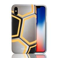 Quality CTUNES IMD Football Pattern TPU Rubber Silicone Cover Anti-Scratch Protective Case For iPhone X wholesale