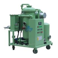 China Transformer Oil Purifier ZL Series Single Stage Vacuum Oil Purifier on sale