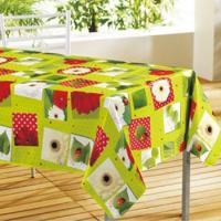 China Flannel Backed Vinyl Tablecloth on sale