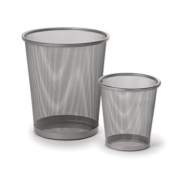 Cheap Dailyart resistant steel wire mesh Wastebasket round Trash Can V018010 for sale