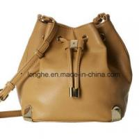 China Stylish Drawstring with Magnetic Snap Closure Ladies Handbag (ZXS0111) on sale