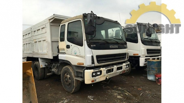 China Used Dumper Trucks Used Isuzu CXZ