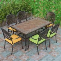 China Outdoor Dining Cast Aluminum Outdoor Furniture Item No.: PL-0045 on sale