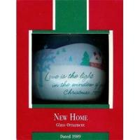 China Hallmark Ornaments By Year 1989 New Home on sale