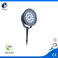 Quality Led Spot Light Solid stainless steel 18W led outdoor spike light wholesale