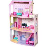 China 2015 wooden dollhouse sell well on sale