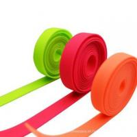 Quality Anti-aging Soft White Webbing With PVC Coated Silicone Garment Tape wholesale