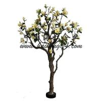 Buy cheap (Indoor & Outdoor) artificial MAGNOLIA blossom Tree from wholesalers