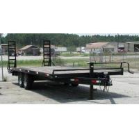 Quality Tandem Axle Ball Hitch Deck-Over Trailers wholesale