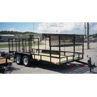 Buy cheap Tandem Axle Landscape / Utility Trailers from wholesalers