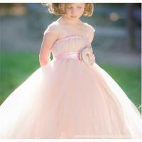Quality Latest long length Spaghetti Strap design fancy birtyday party dresses for girls wholesale