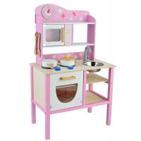 Buy cheap Pink Wooden Toy Kitchen from wholesalers