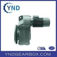 China Torque-arm Hollow Shaft Helical-wom Gearbox on sale