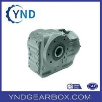 China Foot-mounted Hollow Shaft Helical-bevel gear motor on sale