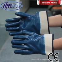 China NMSAFETY Heavy duty nitrile long cuff disposable nitrile gloves on sale