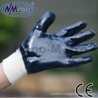 China NMSAFETY oil resistant nitrile glove Heavy duty NBR working glove high quality on sale