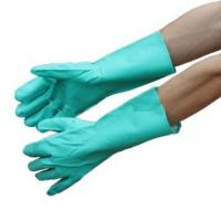 Quality NMSAFETY heavy duty nitirle chemical resistant gloves, long cuff wholesale