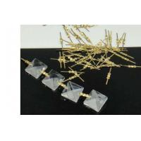 Chandelier Lighting Butterfly Metal Bow Ties Connectors For Crystal Assembly