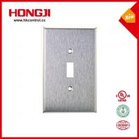 1 Gang Telephone Or Cable Outlet Stainless Steel Wall Plate