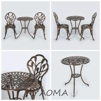 China cast alu.chair and table cast aluminum outdoor furniture on sale