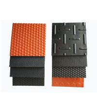 Quality Flat Or Interlocking Edges Shock Proof Cow Horse Rubber Matting For Cowshed wholesale