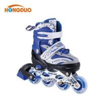China Dependable performance Semi-soft four wheel roller shoes speed skate for kids on sale