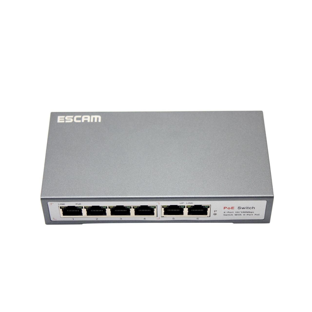 Quality ESACAM Poe Switch POE SWITCH 4+2 wholesale