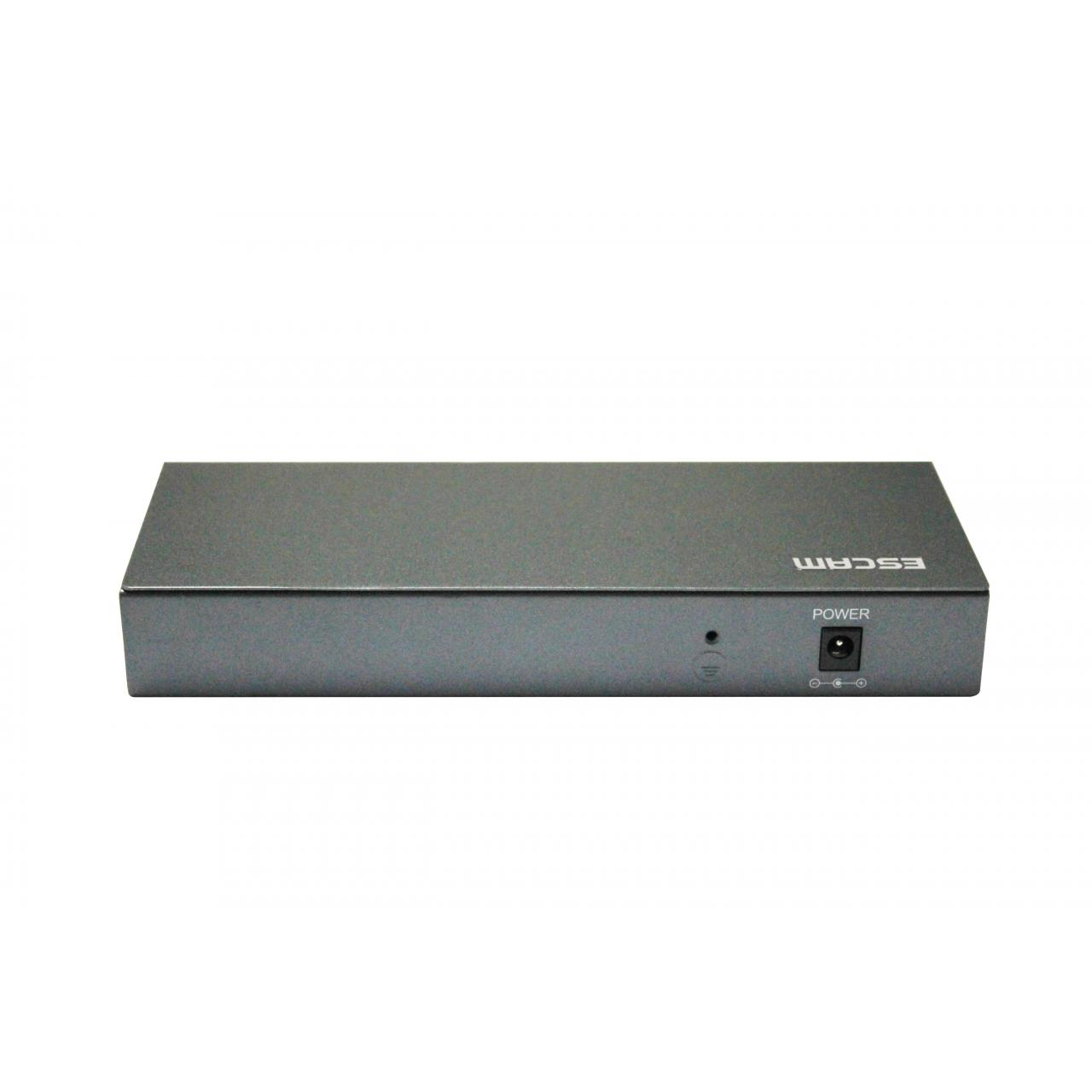 Quality ESACAM Poe Switch 8CH POE Switch 10/100M 150m Distance 120W DC& 2Lan Port wholesale