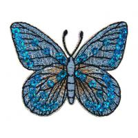 Quality Shiny Butterfly Sequin Patches wholesale