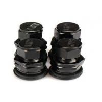China Black Chrome Valve Stem Caps, Car Tyre Valve CapsFor Electric Vehicle on sale