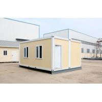 Fast install foldable 2x20ft container house with a larger space