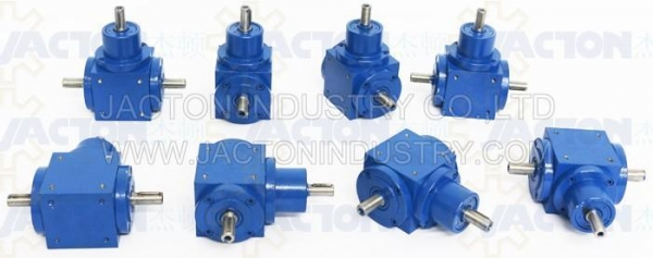 China JTP65 1 To 1 Ratio Mini Right Angle Gearbox