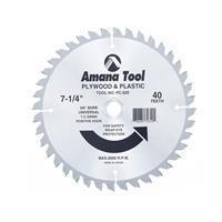 Quality Amana Carbide Tipped Plywood & Plastic Cutting Circular Saw Blade wholesale
