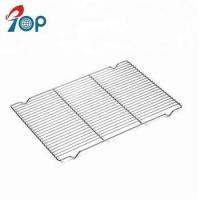 China Stainless steel cooling rack fits half sheet cookie pan on sale